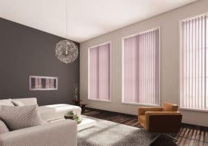 vertical blinds by Forth Blinds