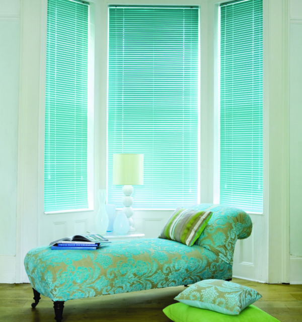 Powder green venetian blinds haddington, musselburgh, north Berwick