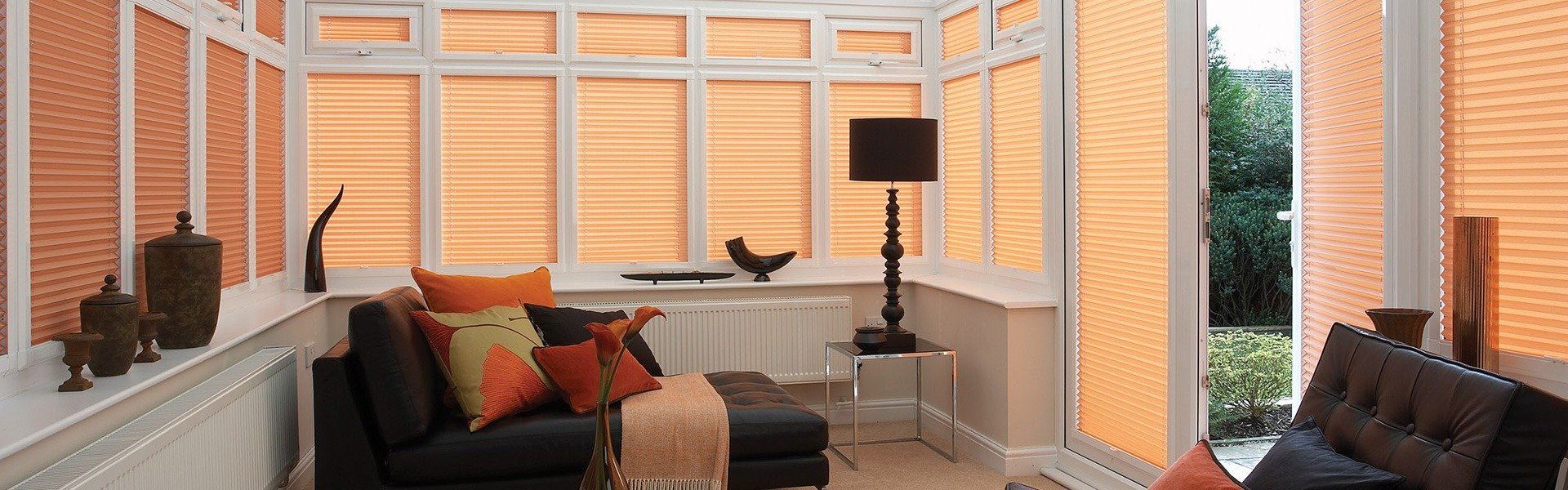 made to measure pleated blinds
