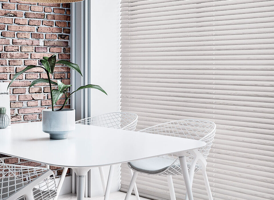 Environmentally friendly venetian blinds